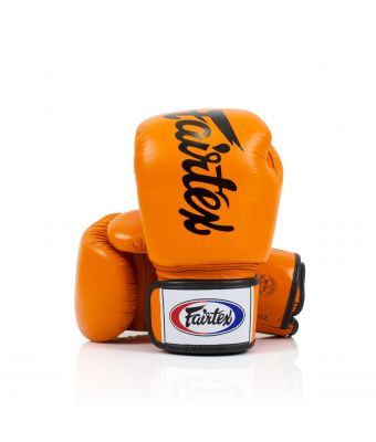 DELUXE TIGHT-FIT GLOVES-Orange-8 oz.
