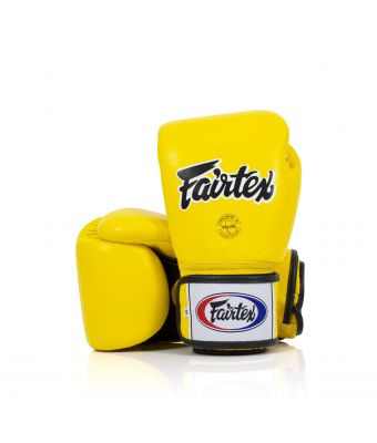 "[50% off] 10 oz. Universal Gloves ""Tight-Fit"" Design -Breathable-Yellow"
