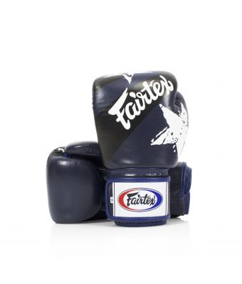 """Universal Gloves """"Tight-Fit"""" Design-Nation Prints Collection-8 oz.-BLUE"""