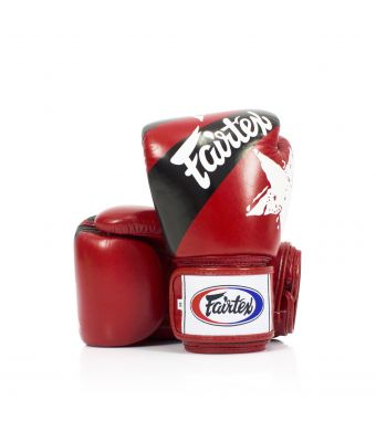 """Universal Gloves """"Tight-Fit"""" Design-Nation Prints Collection-8 oz.-RED"""