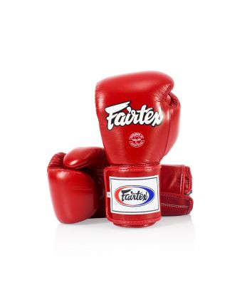 Super Sparring Gloves - Locked Thumb-10 oz.-RED
