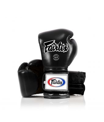 Heavy Hitter's Gloves - Mexican Style-Black-10 oz.