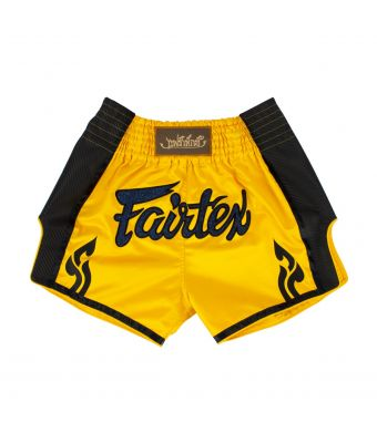 Muay Thai Shorts - BS1701-YELLLOW-S