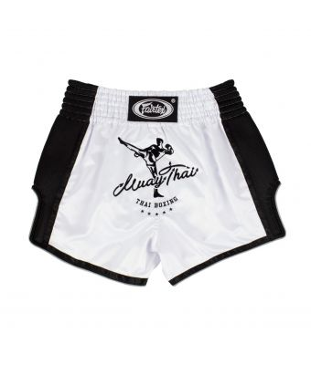 Muay Thai Shorts-BS1707-WHITE-S