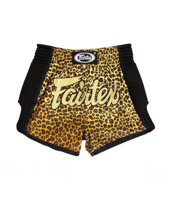Muay Thai Shorts - BS1709 Leopard