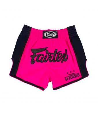 Muay Thai Shorts - BS1714 Shocking Pink