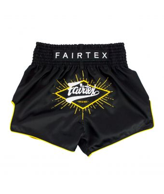 "MUAY THAI SHORTS - BS1903 ""FOCUS""-Black-XS"