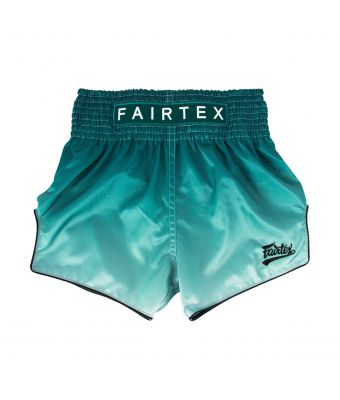 MUAY THAI SHORTS - BS1906 FADE (GREEN)