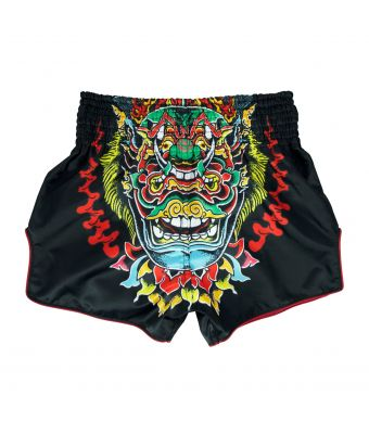 "Muay Thai Shorts - BS1908 ""Satoru Collection""-Black-XS"