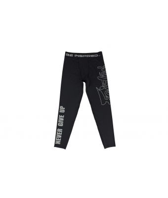 Compression Pants-Black-S
