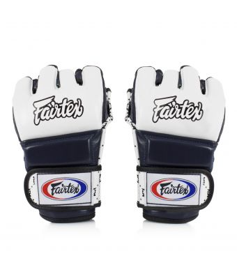Super Sparring Gloves-White/Blue-S