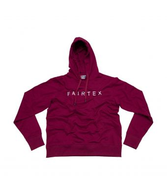 Fairtex Hooded Sweatshirts (Pullover)-Red-S