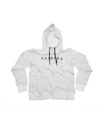 Fairtex Hooded Sweatshirts (Pullover)-White-S