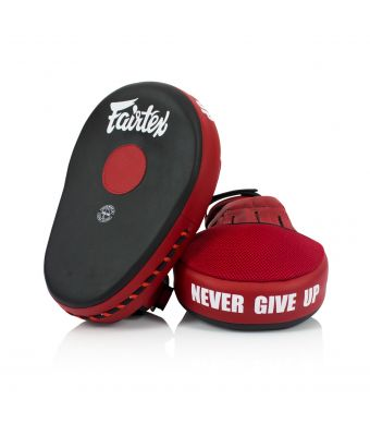 Maximized Focus Mitts-Black/Red