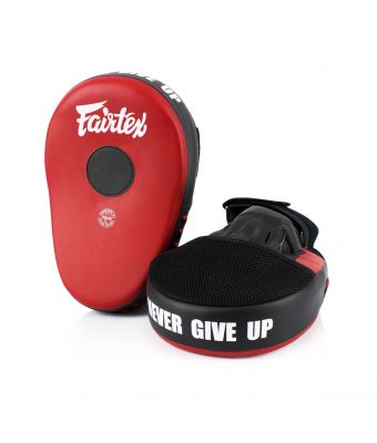 Maximized Focus Mitts-Red/Black