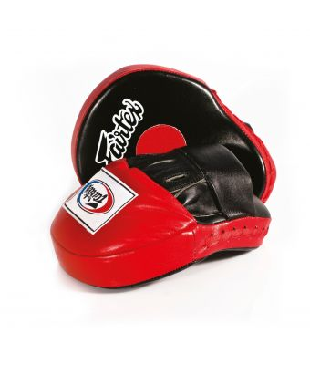 The Ultimate Contoured Focus Mitts-Black/Red