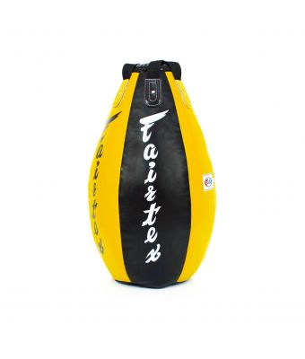 Super Tear Drop Heavy Bag - Unfilled-Black/Yellow