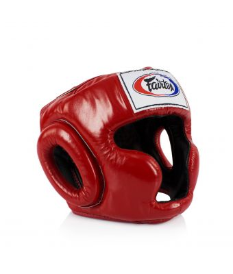 Full Coverage Style Headguard-Red-M