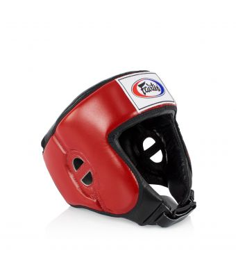 Competition Headguard-Red-M