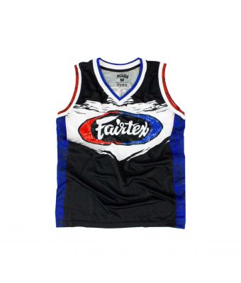 Fairtex Basketball Jersey - JS10-Black-S