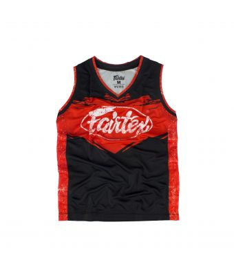 Fairtex Basketball Jersey - JS9-Red-S