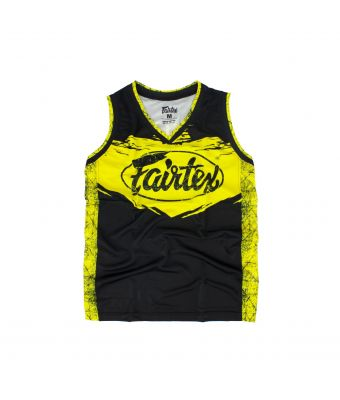 Fairtex Basketball Jersey - JS9-Yellow-S