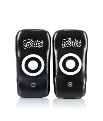 Curved Kick Pads - Standard-Black/Blue