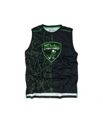 Fairtex Polyester Jersey - MTT31-Black/Green-S