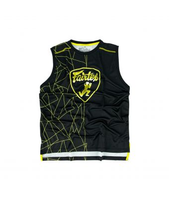 Fairtex Polyester Jersey - MTT31-Black/Yellow-S