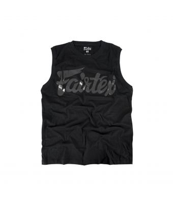 Fairtex Cotton Jersey - MTT34-Black-XS