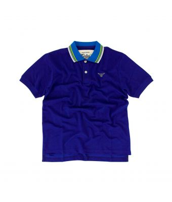 Fairtex Polo Shirt - PL12-Blue-S