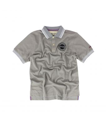 Fairtex Polo Shirt - PL15-Gray-S