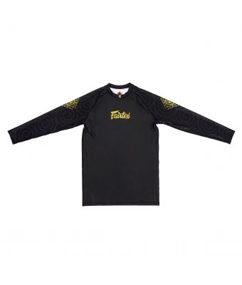"""Ninlapat"" Fairtex Pro Long Sleeves Rashguard"