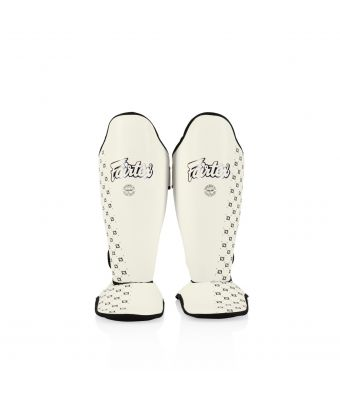 Competition Shin Pads-White-M