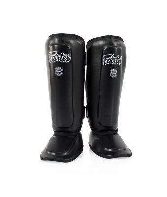 Shin Pads for Kids-Black-8-10Y