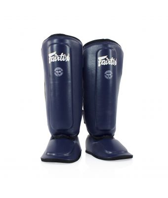 Shin Pads for Kids-Blue-8-10Y