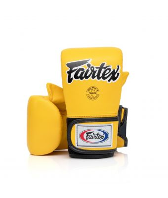 """CROSS-TRAINER"" BOXING & BAG GLOVES-Yellow-M"