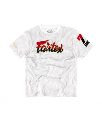 Fairtex T-Shirt - TST172-White-S
