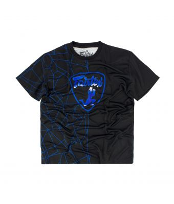 Fairtex T-Shirt - TST174-Black/Blue-S