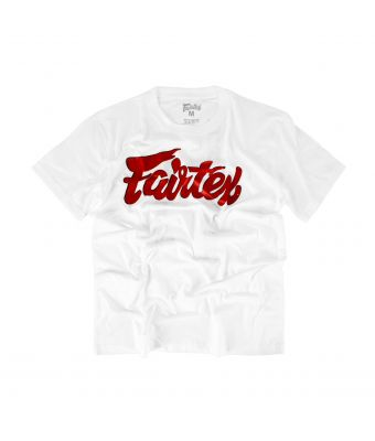 Fairtex Fight Team #2-White/Red-S