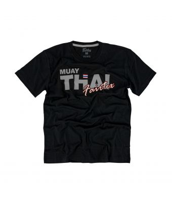 Fairtex T-Shirt - TST178-Black/Silver-XS