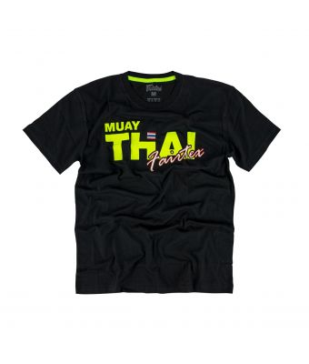 Fairtex T-Shirt - TST178-Black/Yellow-XS