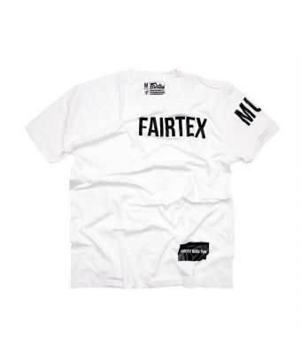 Fairtex T-Shirt - TST191-White-XS