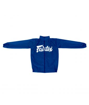 Vinyl Sweat Suit-Blue-S