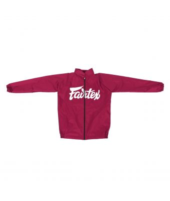 Vinyl Sweat Suit-Red-S