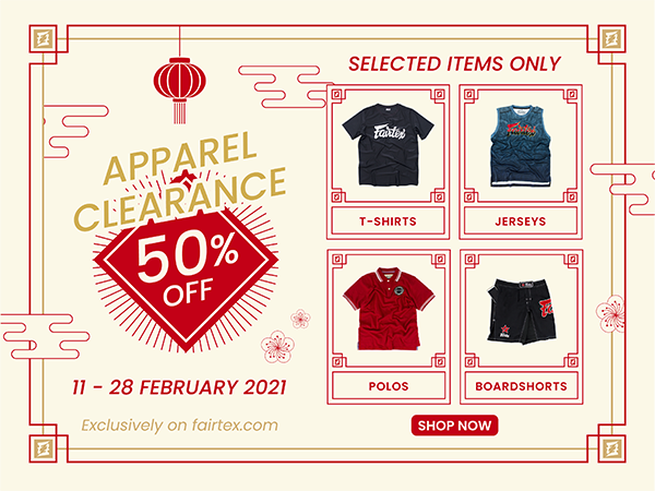 Apparel Clearance Promotion (11-28 Feb 2021)