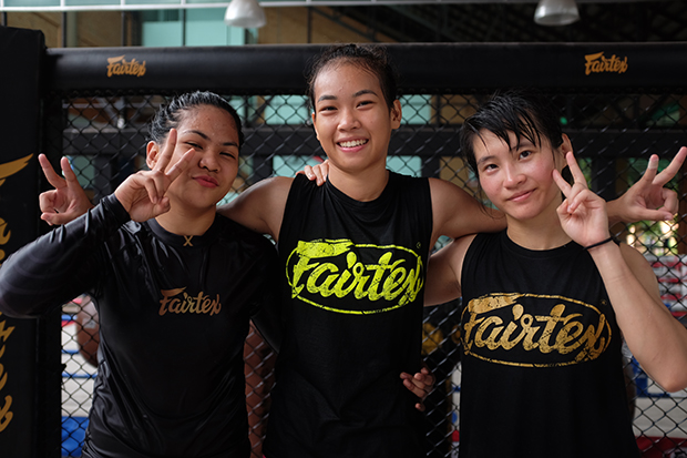 Fairtex Female Fighters Taking Over The World
