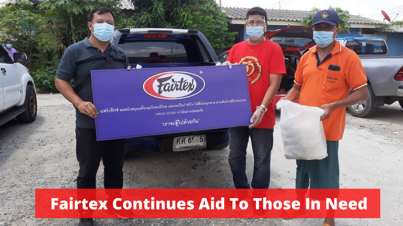 Fairtex Expands Aid To Those In Need