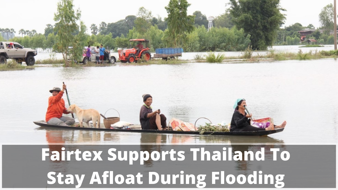 Fairtex Supports Thailand To Stay Afloat During Flooding