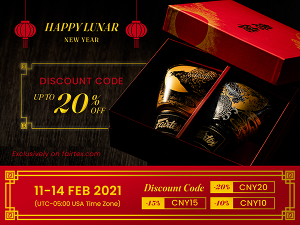 Happy Lunar New Year Promotion (11-14 Feb 2021)